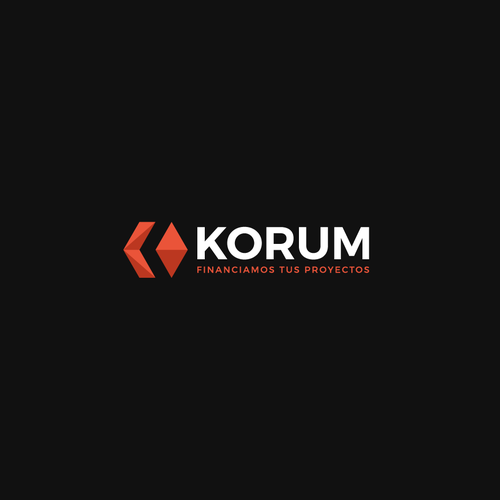 Bold logo concept for Korum