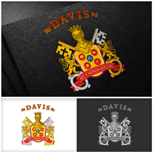 Crest design for Davis family