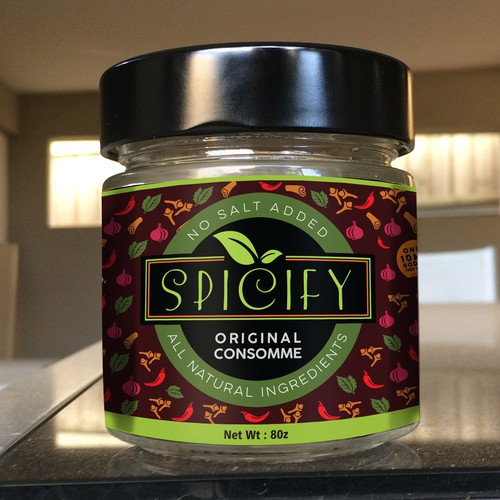 spicify label
