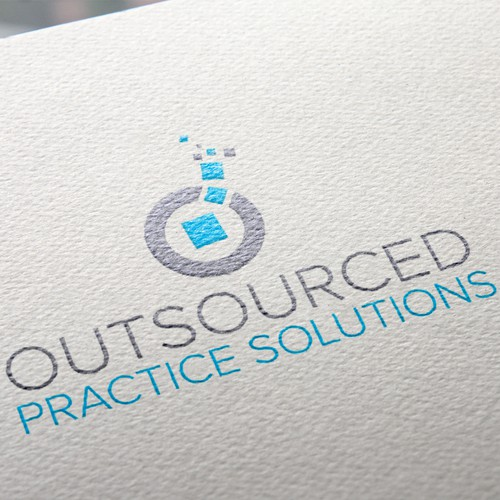Professional Logo for an Outsourcing Medical Company