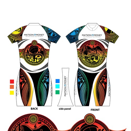 make bike shirt for event