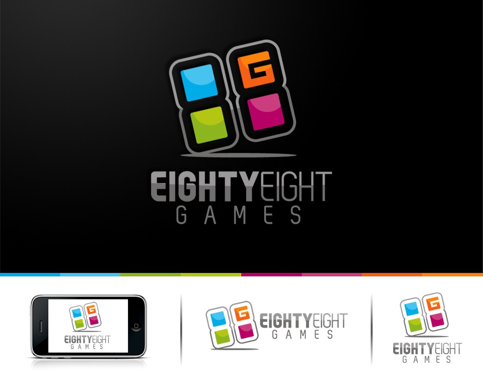 """Help Eighty-Eight Games Limited (""""8G8"""") with a new logo"""