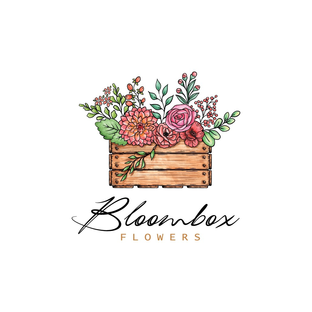 Flower business needs blooming new logo!