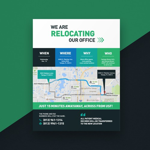 Relocating Flyer Design