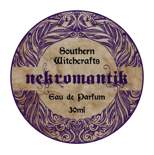 Southern Witchcrafts Perfume Bottle Labels