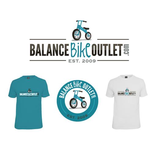 Create the next logo for BalanceBikeOutlet.com