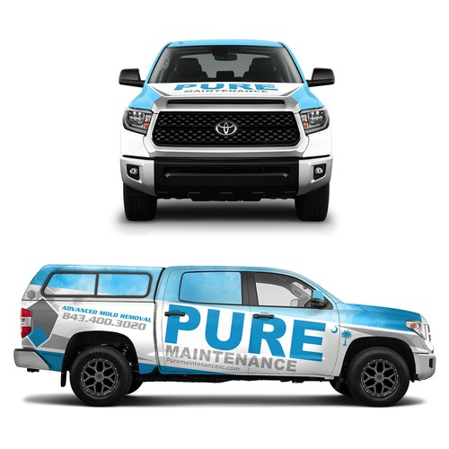 Truck Wrap for Pure Maintenance