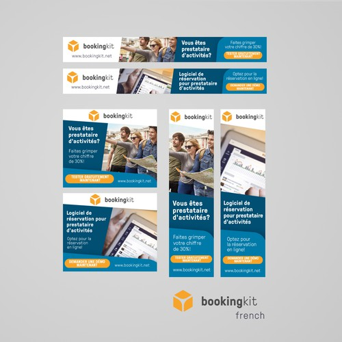 Banner Ads for BookingKit