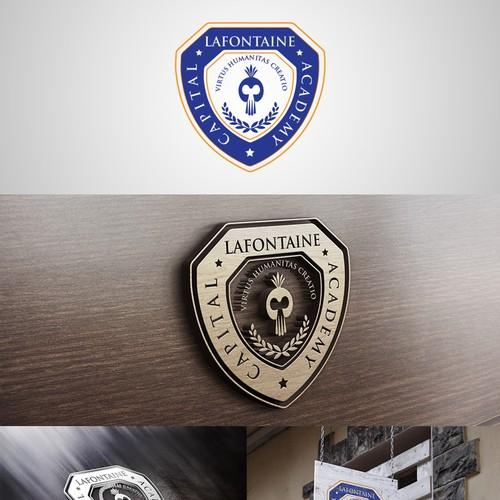 Modern/Forward thinking Private School logo