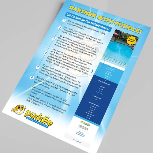 Partner With Puddle Flyer