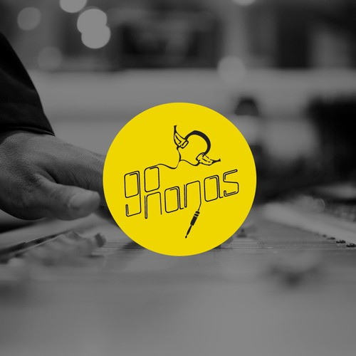 Music Producer Logo - Creative Project - 'Go Nanas'