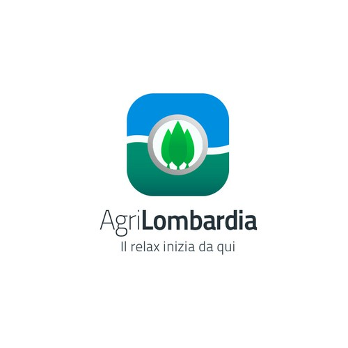 Icon concept for AgriLombardia