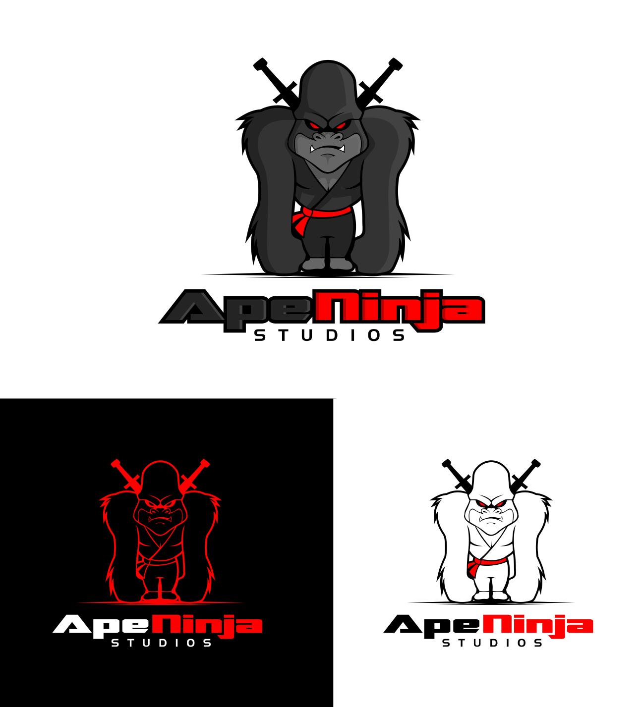 Logo for Ape Ninja Studios