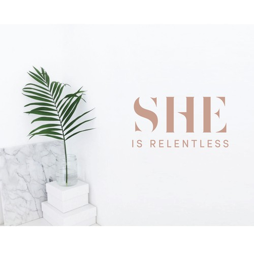 Luxury Female Retreat Branding.