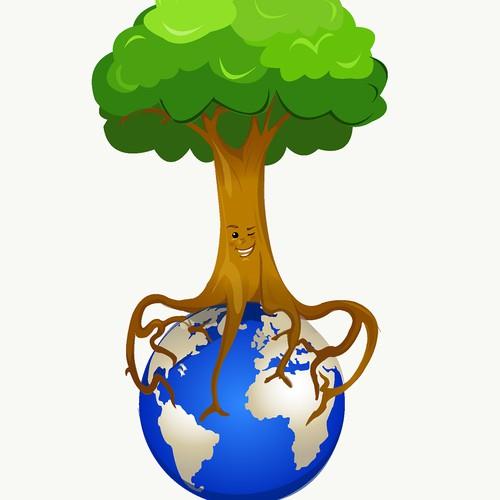 Design a CSR campaign mascot