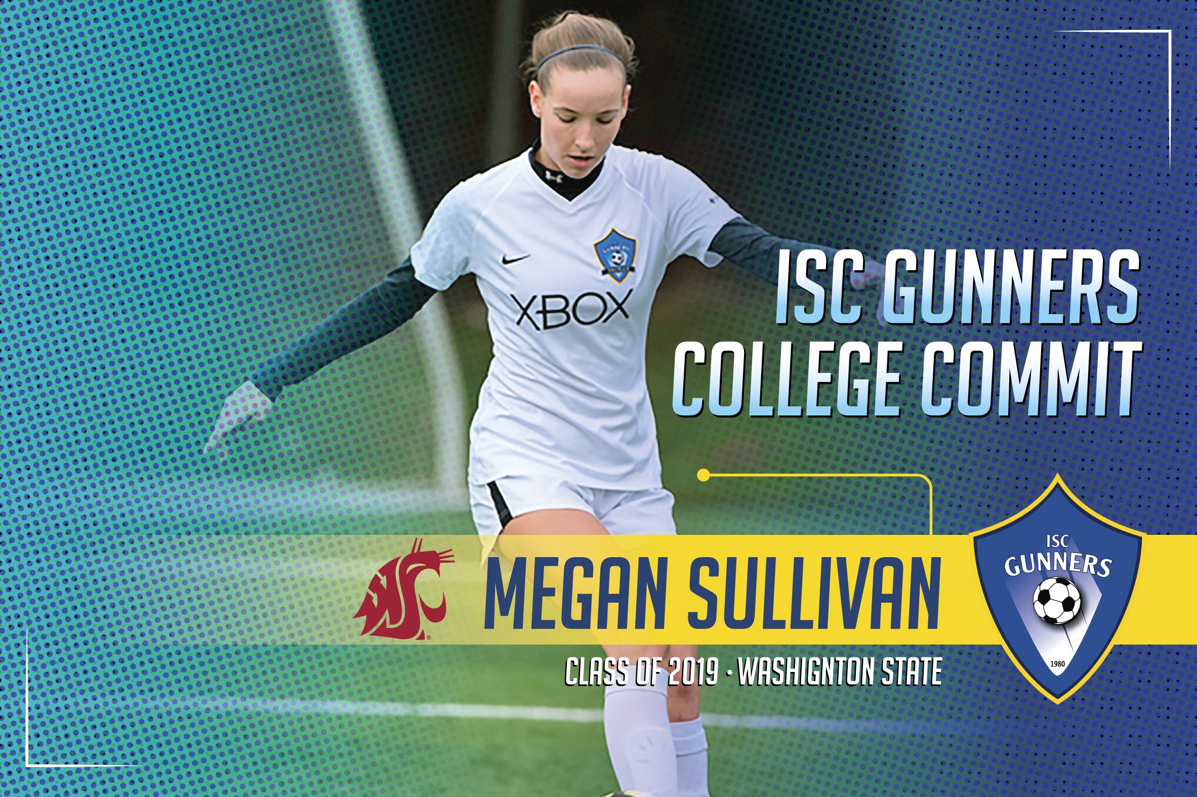 ISC Gunners College Commitments #4 (Only 1 x Graphic/Flyer)