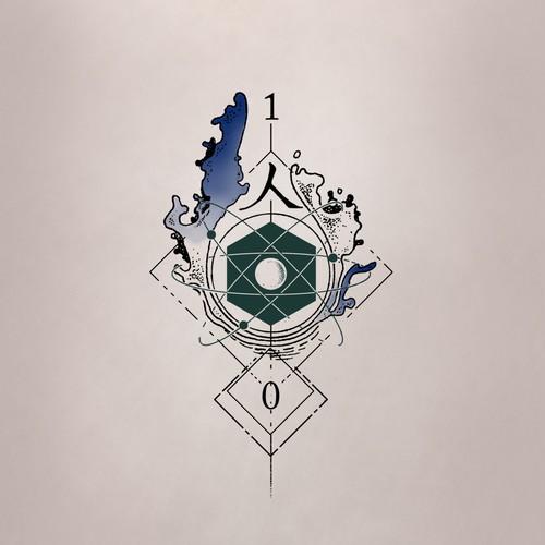 molti elementi in un tatuaggio d'effetto