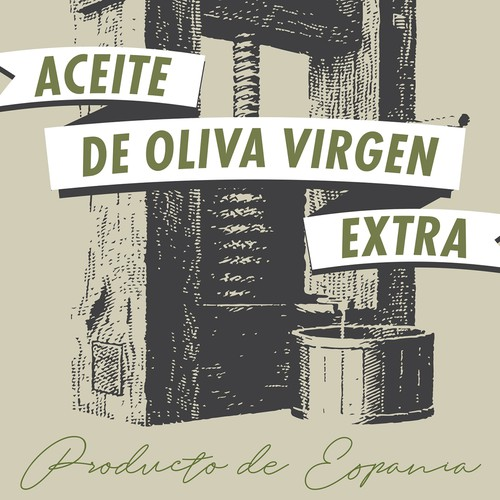 Extra virgin olive oil label proposal