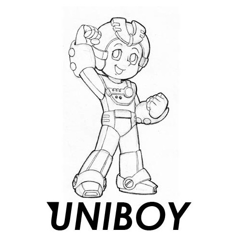 Logo Sketch for Uniboy