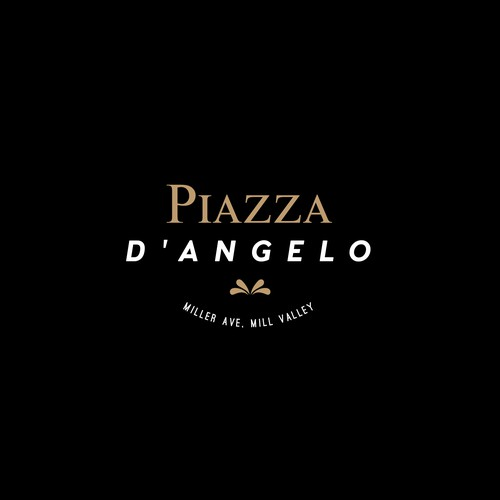 Logo design for Piazza D'angelo 3