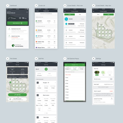 User Friendly Design For Forestry App