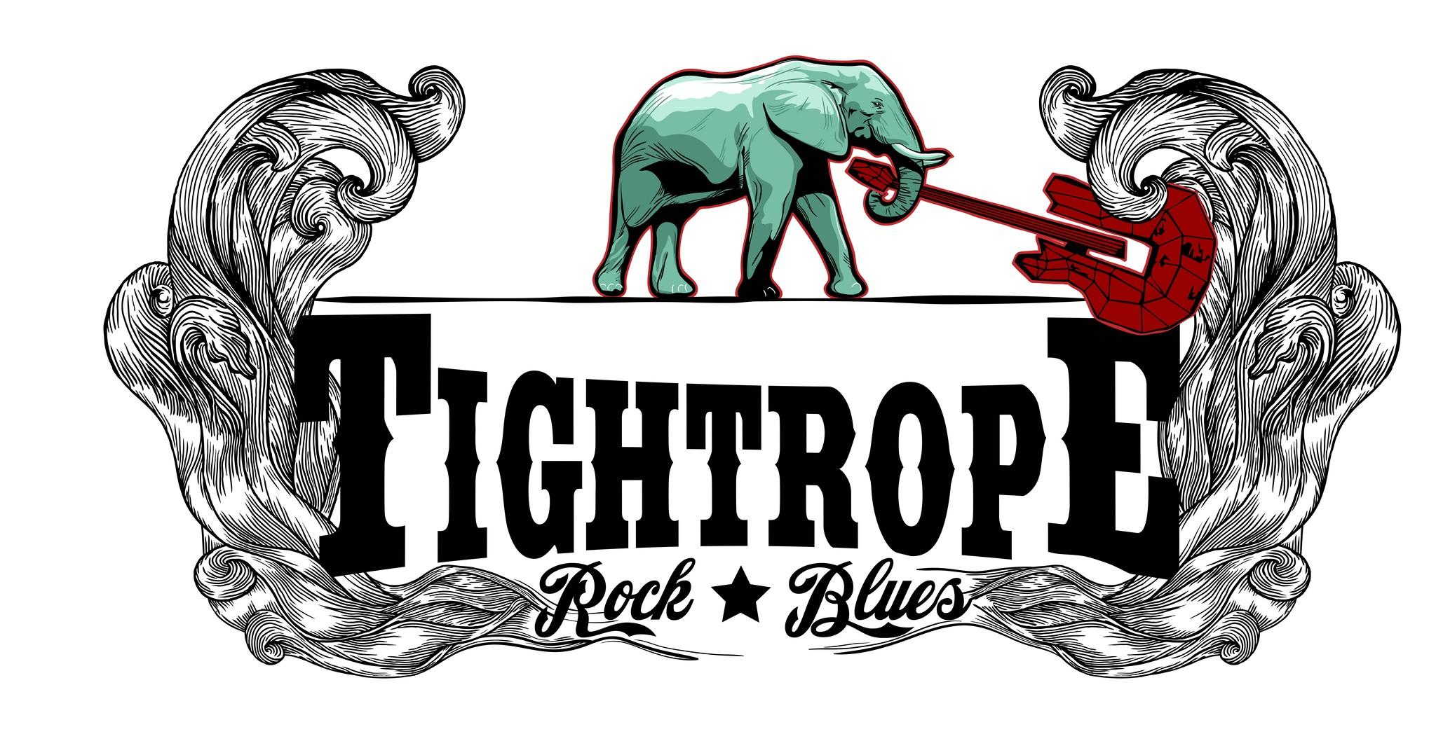 Schriftzug/Logo für Blues-Rock Band