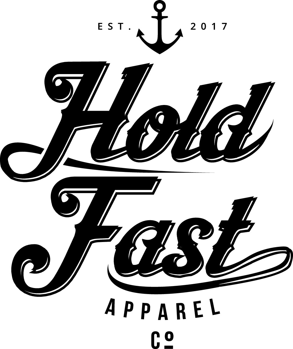 Create the logo for Hold Fast Apparel Co.