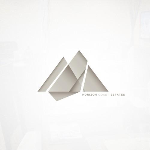 Geometric Logo for Real Estate