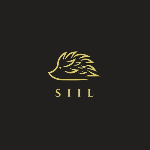 SIIL (HEDGEHOG) Hair Care Product Logo