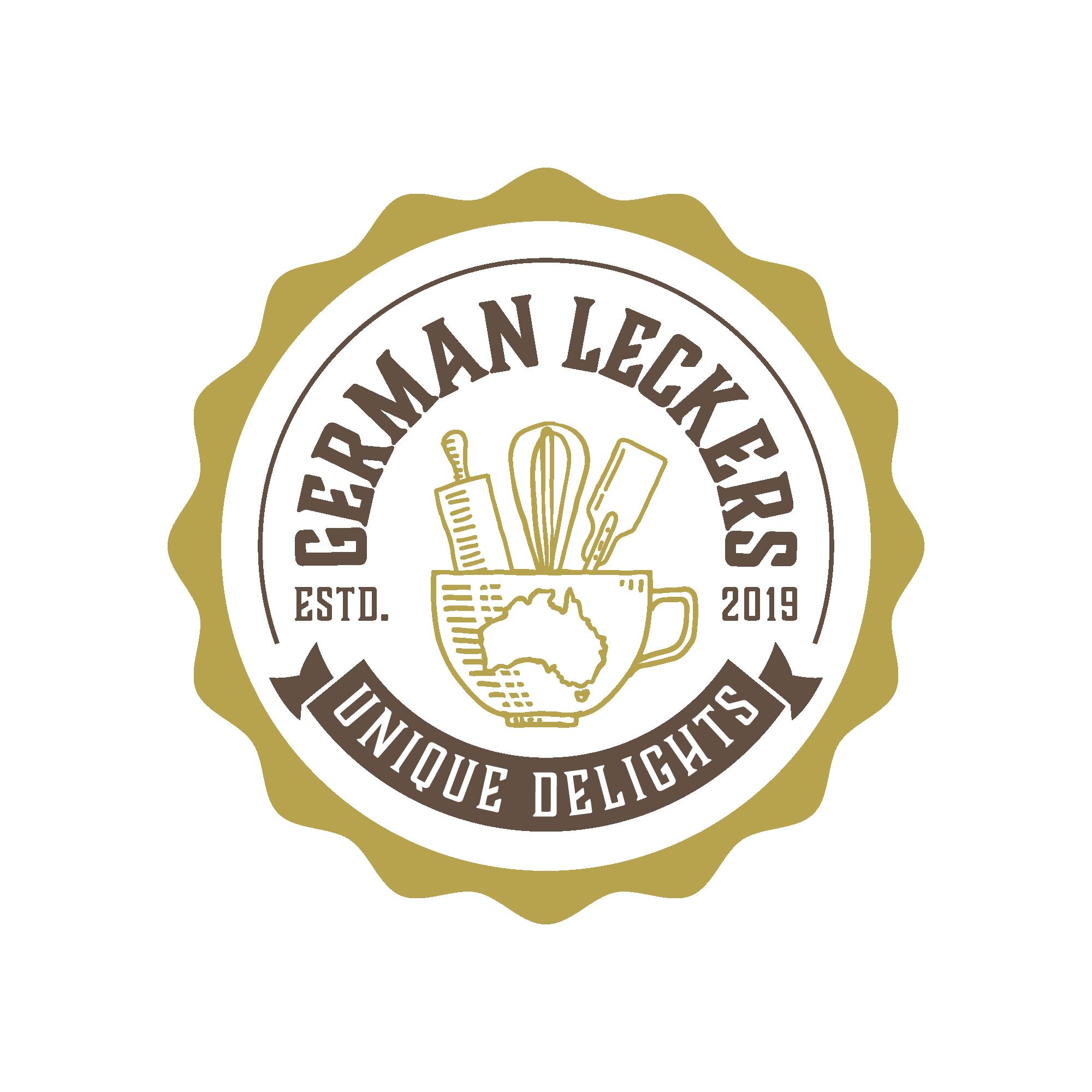 logo for yummy German pastries in Australia