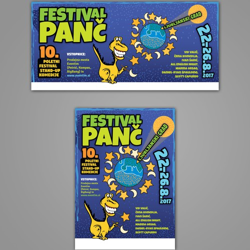 Poster in two formats