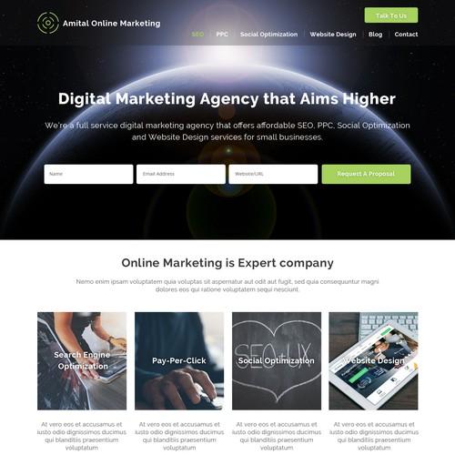 Marketing Wordpress theme