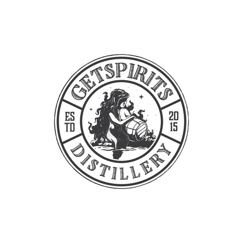 Logo Concept For Spirit Distilery
