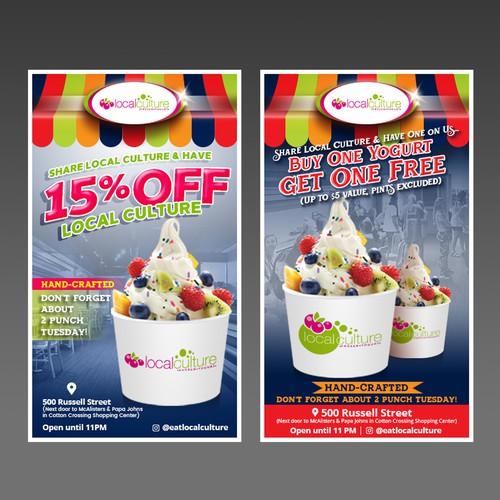 Flyer Ice Cream