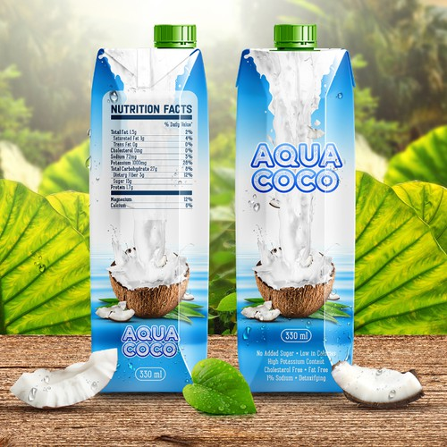 Aqua Coco Package Design