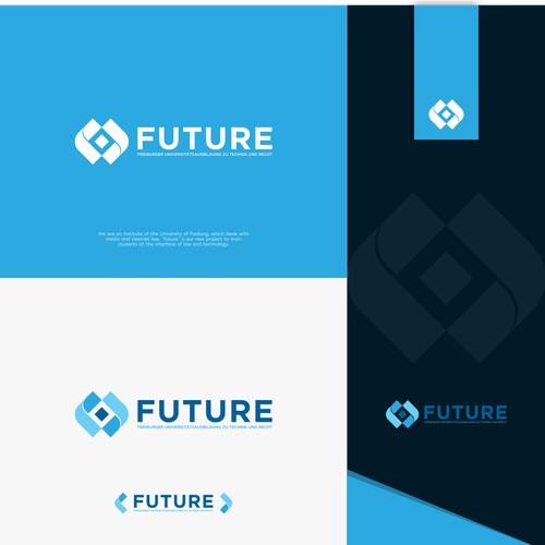modern logo concept FUTURE company