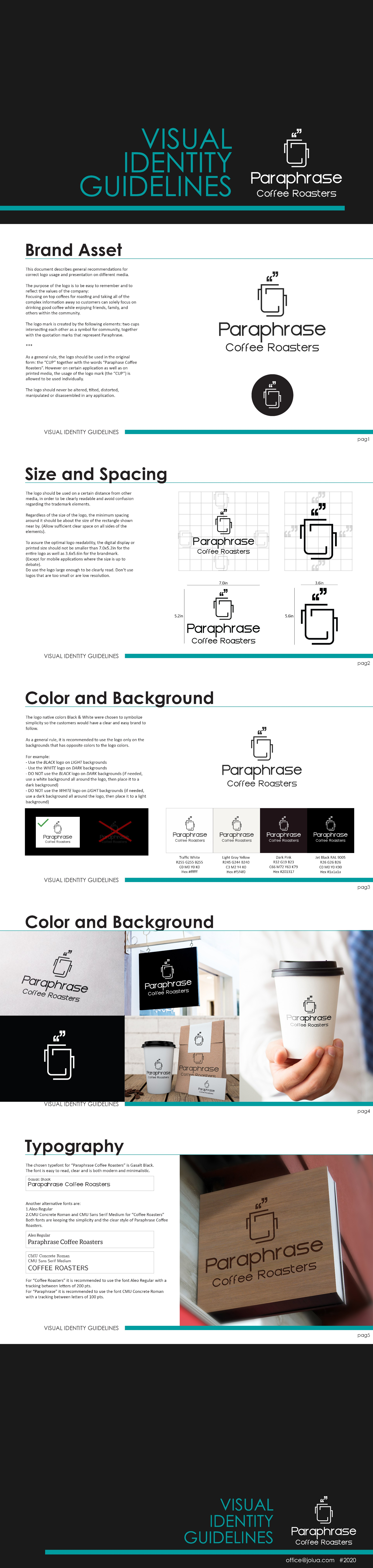 A creative logo for easy brand identification for a coffee roaster
