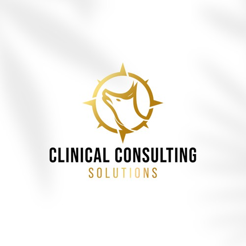 Clinical Consulting Solutions Logo Concept