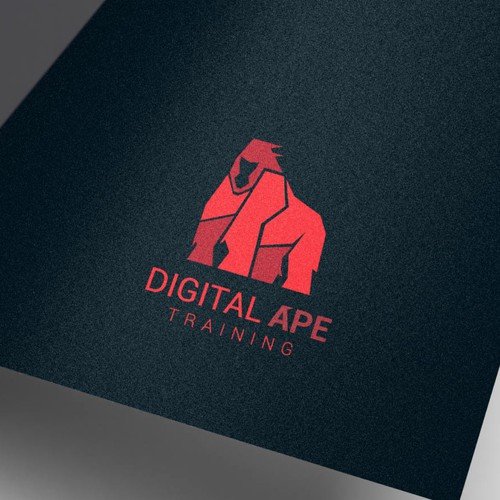 Abstract logo for DIGITAL APE