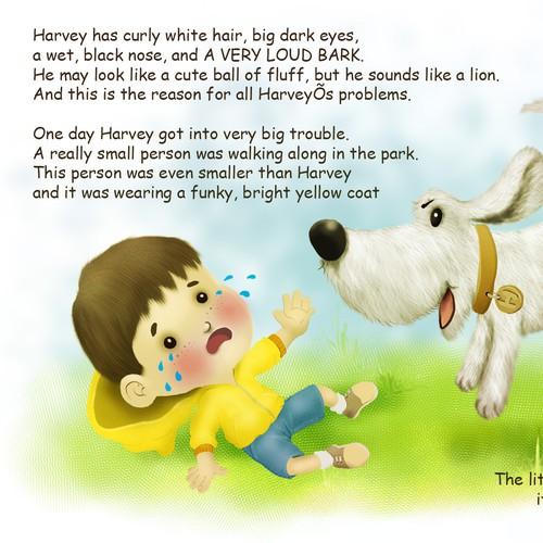 Illustration concept for HARVEY