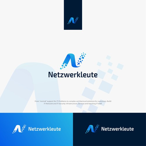 Logo design for a IT networking company