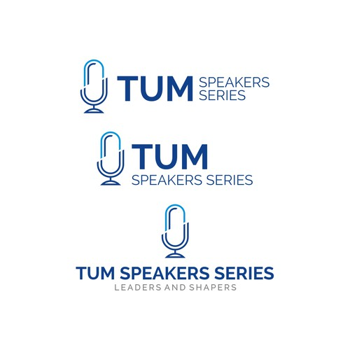 Clean Logo Concept for TUM