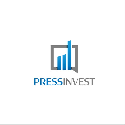 Logo concept for online financial newsfeed company