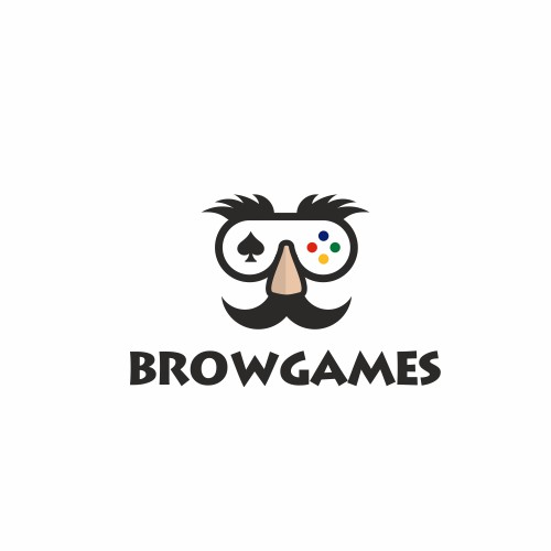 Logo design for BROWGAMES
