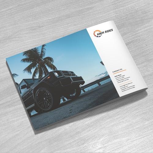 Brochure Design for Rental Car Company in Miami