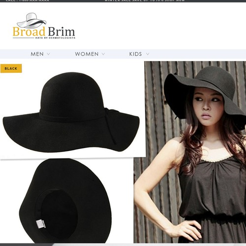 Long Brim Hat logo
