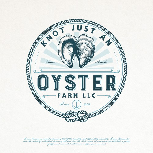 OYSTER FARM LOGO DESIGN