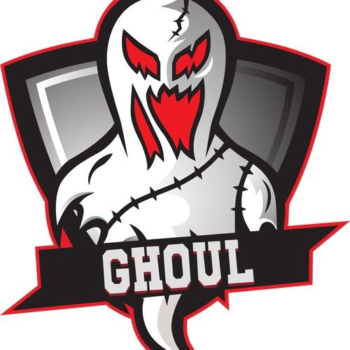 vectorized logo ghoul