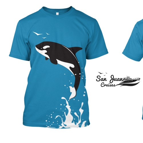 Whale Watching T Shirt