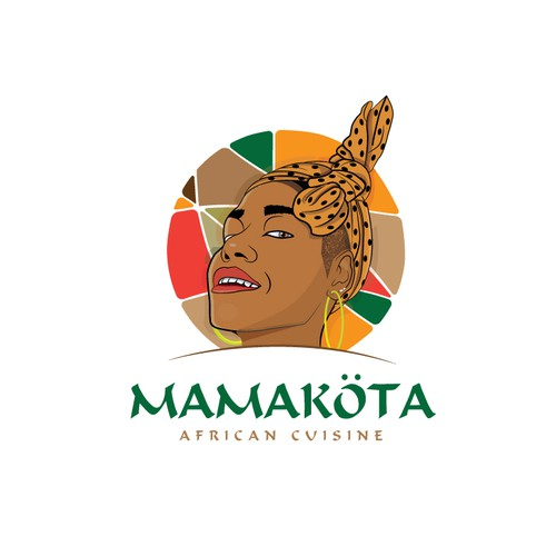 Mascot for an African Restaurant